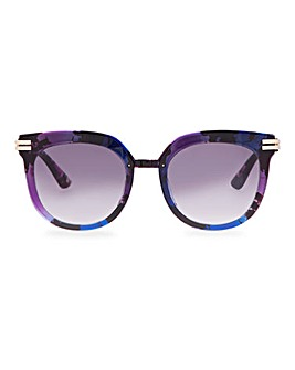 Supernova Purple Oversized Sunglasses