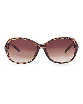 Cheryl Tortoiseshell Polarized Sunglasses