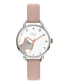 Radley Wood Street Leather Strap Watch
