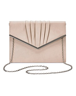 Sophie Nude Clutch Bag
