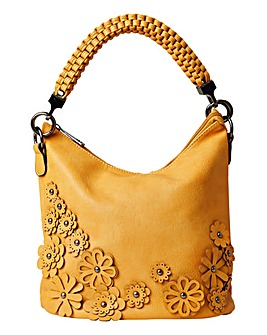 Joe Browns Gorgeous Flower Applique Bag
