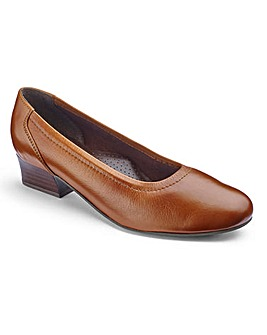 Leather Court Shoes EE Fit