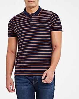 Pique Stripe Polo
