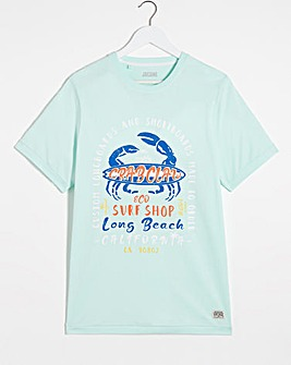 Crab Claw Graphic T-Shirt