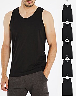 Pack of Five Vests