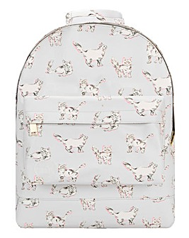 MI PAC CAT PRINT MINI BACKPACK