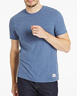 Denim Marl Peached Marl T-Shirt