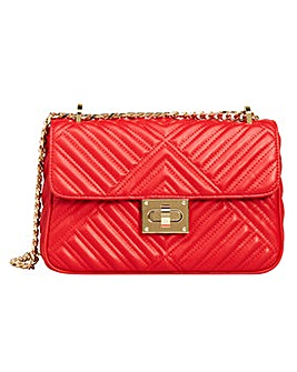 Violeta By Mango Quilted Shoulder Bag