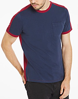 Heavy Weight Colour Block T-Shirt
