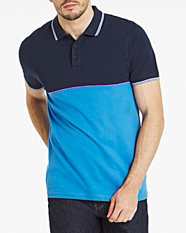 Colour Block Polo