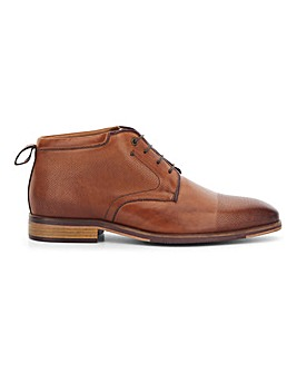 Peter Werth Leather Chukka Boot Wide Fit