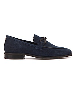 Peter Werth Suede Knot Loafer Wide Fit
