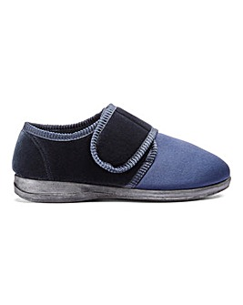 Easy Fasten Comfort Slipper Extra Wide
