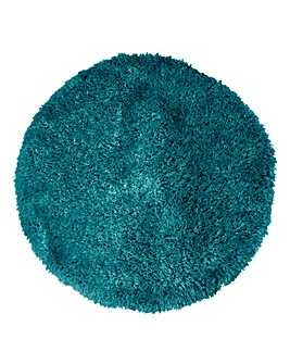 Indulgence Supersoft Shaggy Circle Rug