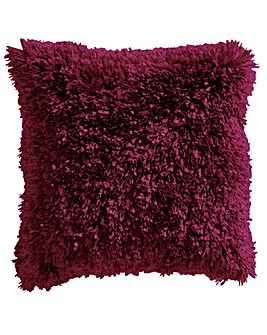 Ribbons Shaggy Cushion