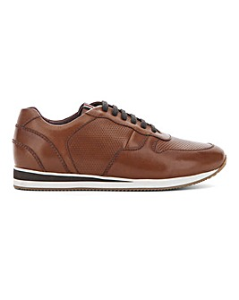 Peter Werth Leather Trainer Wide Fit