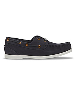 Joe Browns Contrast Nubuck Boat Shoe W