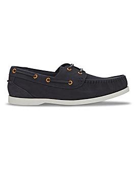Joe Browns Contrast Nubuck Boat Shoe W