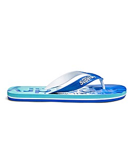 Superdry Faded Base Flip Flops