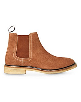 Joe Browns Crepe Sole Chelsea Wide Fit