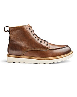 Jacamo Real Leather Apron Toe Boots