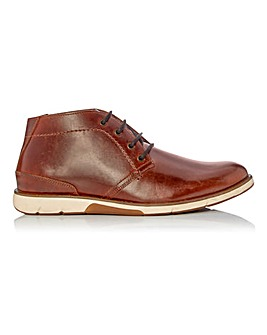 Dune Collide Leather Chukka Boot