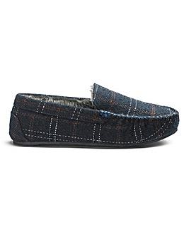 Printed Check Slippers Standard Fit