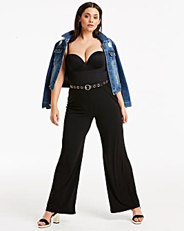 Joanna Hope Jersey Trousers Long
