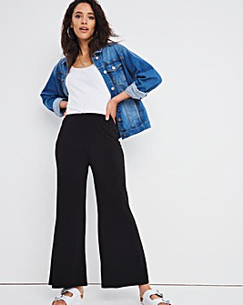 Joanna Hope Luxe Jersey Palazzo Trousers Regular