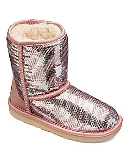 UGG Classic Sequin Short II Star Boot