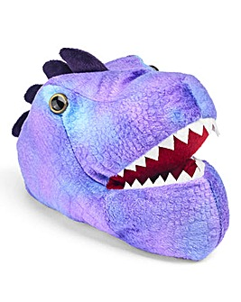 KD Boys Purple Dino Slippers