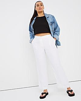 Joanna Hope Extra Petite Linen Trousers