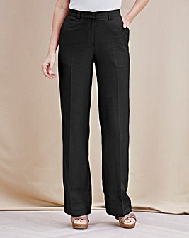 Joanna Hope Long Linen Trousers - 31in
