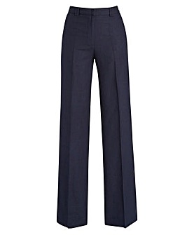 619a3dca30e Joanna Hope Linen-Blend Trousers 27in