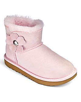 UGG Bailey Button Poppy Boot