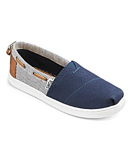 Toms Bimini Youth Canvas Espardrille