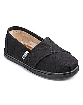 Toms Classic Tiny Canvas Espadrille