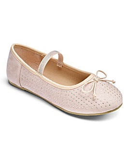 TKD Jewelled Ballet Shoes