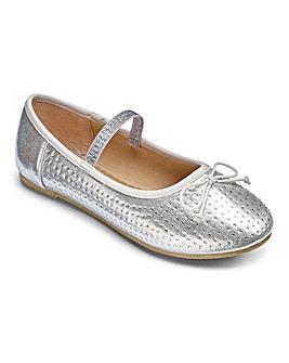 TKD Jewelled Ballet Shoes