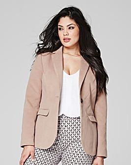 Single-Breasted Smart Coat