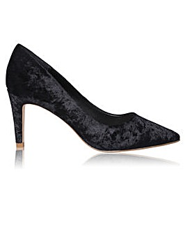 Perfect Mya Pointed Toe Velvet Court