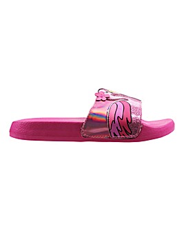 Girls Flamingo Sliders