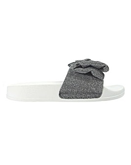 Girls Bow Knot Sliders