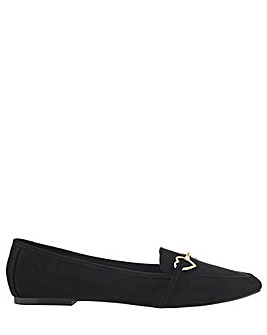 Accessorize Harriet Heart Loafers