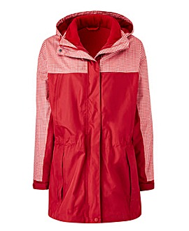 Red Gingham 3-in-1 Jacket