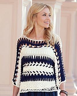 JOANNA HOPE Crochet Jumper