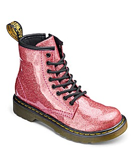 Dr Martens Glitter Lace Boots Junior