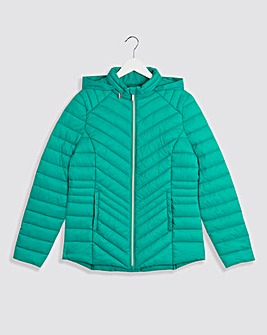 Jade Lightweight Short Padded Jacket