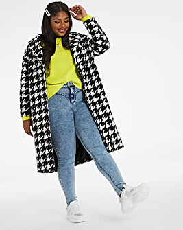 Dogtooth Relaxed Coat