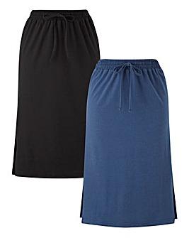 PK2 Side Split Midi Skirts